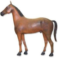 Large Horse 93in. - Fiberglass Resin - Indoor/Outdoor Garden Statue