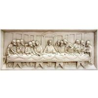 Last Supper Wall Relief 25in. - Fiberglass - Wall Art