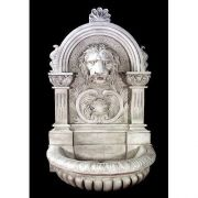 Le Grande Lion Fountain 58in. - Fiberglass - Outdoor Statue