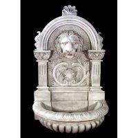 Le Grande Lion Fountain 58in. - Fiberglass - Outdoor Statue