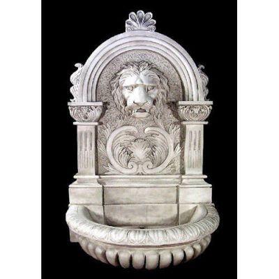 Le Grande Lion Fountain 58in. - Fiberglass - Outdoor Statue -  - FAK903