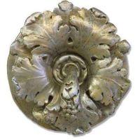 Leafy Medallion 15in. - Fiberglass - Indoor/Outdoor Statue