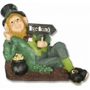 Leprechaun Going Home - Fiberglass - Indoor/Outdoor Statue