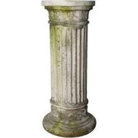 Leticia's Riser Stand Pedestal Statue Base 36in. High - Stone - Statue