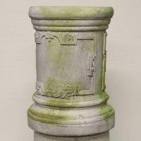 Lexford Riser Stand Pedestal Statue Base - Fiber Stone Resin - Statue
