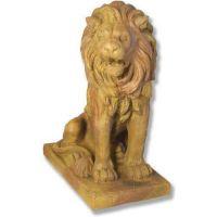 Lion 36in. Facing Right - Fiber Stone Resin - Indoor/Outdoor Statue