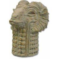 Llama Head Sculpting Fiberglass Indoor/Outdoor Statue/Sculpture