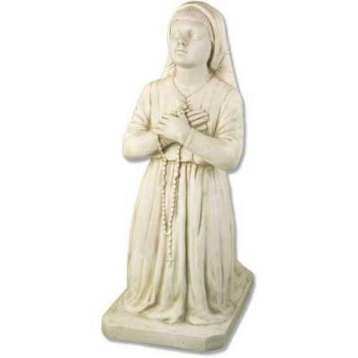 Lucia Child of Fatima 38 In. Fiberglass Indoor/Outdoor Statue -  - F7738