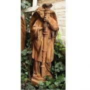 Majestic Angel Guard Left - Fiber Stone Resin - Indoor/Outdoor Statue