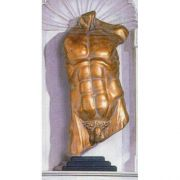 Male Remnant/Base - Fiberglass - Indoor/Outdoor Garden Statue