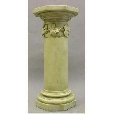 Maple Leaf Riser Stand Pedestal Statue Base 36in. - Fiberglass Resin -  - AK908