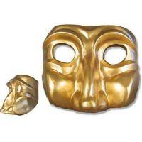 Mardi - Gras Mask (Short) Fiberglass Indoor/Outdoor Statue