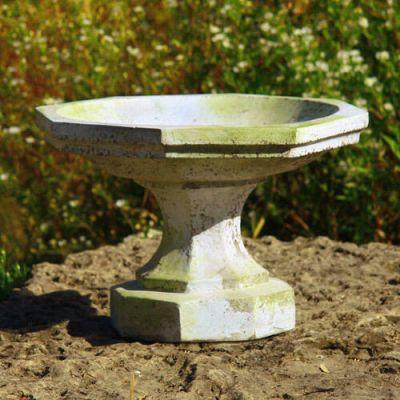 Marek Birdbath - Fiber Stone Resin - Indoor/Outdoor Statue/Sculpture -  - FS8759