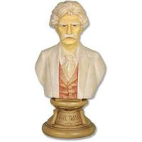 Mark Twain 18in. (Detailed) - Fiberglass - Indoor/Outdoor Statue