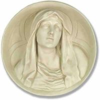 Mary Roundel - Fiberglass - Indoor/Outdoor Statue/Sculpture