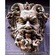 Mask Of Faunus 20in. - Fiberglass - Indoor/Outdoor Planter