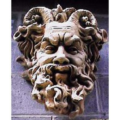 Mask Of Faunus 20in. - Fiberglass - Indoor/Outdoor Planter -  - F1260
