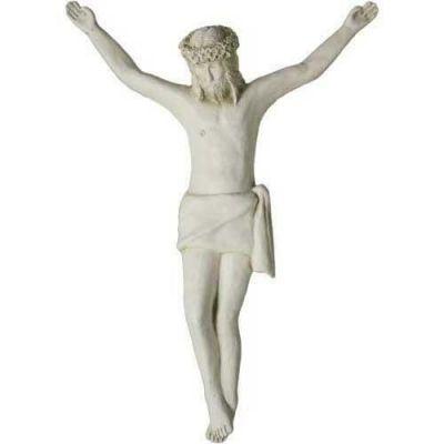 Medevil Large Corpus of Christ for Church 23in. - Fiberglass Resin -  - F8514