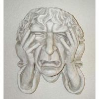 Melancholy Of Oxford 14in. - Fiberglass - Indoor/Outdoor Statue