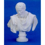 Michelangelo Bust 32in. (Chest) Fiberglass In/Outdoor Statue