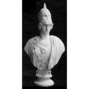 Minerva Giustinia Bust 45in. - Fiberglass - Outdoor Statue