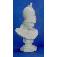 Minerva Giustinian Bust 33in. Fiberglass Indoor/Outdoor Statue