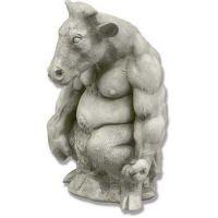 Minotaur 16in. - Fiberglass Resin - Indoor/Outdoor Statue/Sculpture