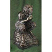 Mischievous Pan 12in. - Fiberglass - Indoor/Outdoor Statue