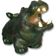 Molly Hippo Birdfeeder 10in. Fiberglass Resin - Indoor/Outdoor Statue