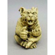 Mouse Catcher Gargoyle 8in. - Fiberglass - Indoor/Outdoor Statue