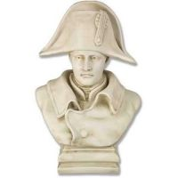 Napoleon Bust - 17 In. Fiberglass Indoor/Outdoor Garden Statue