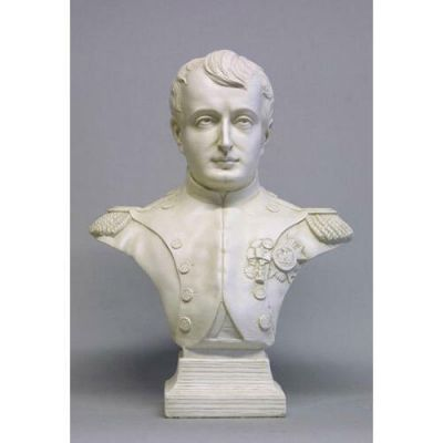 Napoleon Bust From France 29in. - Fiberglass - Outdoor Statue -  - F7009