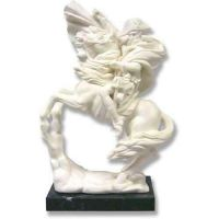 Napoleon On Horse 11in. High - Carrara Marble Indoor Statue