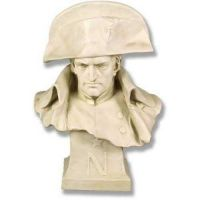 Napoleon Winter Bust Fiberglass Indoor/Outdoor Statue/Sculpture