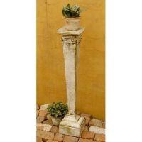 Narrow Riser Stand Pedestal Statue Base 42in. - Stone - Statue