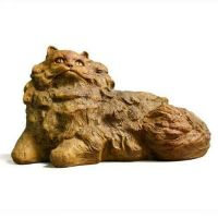 Nefi Cat - Fiber Stone Resin - Indoor/Outdoor Garden Statue/Sculpture