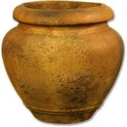 Oil Jar Ou 15p 19in. High Destefano Fiber Stone In/Outdoor Statue