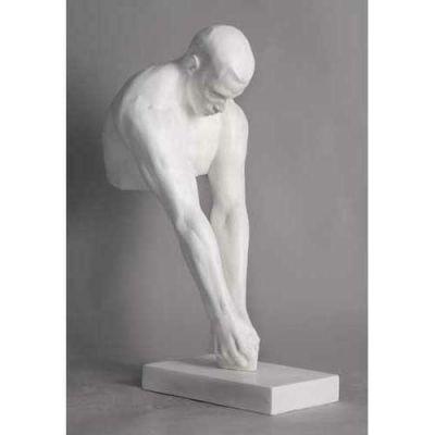 Olympic Hammer Thrower 24in. Fiberglass Indoor/Outdoor Statue -  - FDS311