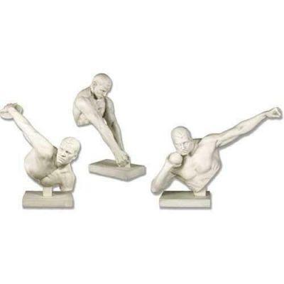 Olympic Set 24in. - Fiberglass - Indoor/Outdoor Garden Statue -  - FDS310A-B-C