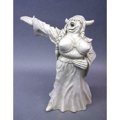 Opera - Fat Lady Sings 12in. Fiberglass Indoor/Outdoor Statue -  - T39815