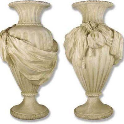 Opera Urn 48in. High - Fiberglass - Indoor/Outdoor Garden Statue -  - F8052