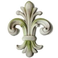 Orazio Wall Finial Fiber Stone Resin Indoor/Outdoor Statue/Sculpture