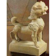Oriental Foo Dog Small - Fiberglass - Indoor/Outdoor Statue