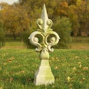 Orleans Finial Fiber Stone Resin Indoor/Outdoor Statue/Sculpture