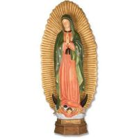 Our Lady Guadalupe With Sunburst 56in. - Fiberglass - Statue
