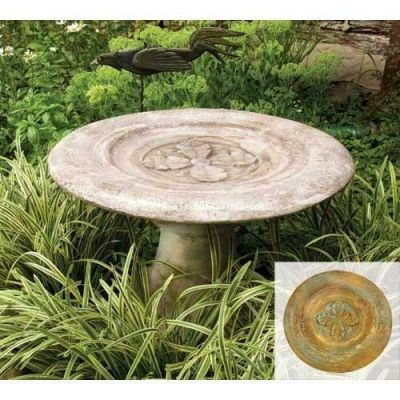 Overture Reflecting Pool 20in. - Fiber Stone Resin - Outdoor Statue -  - FS8048