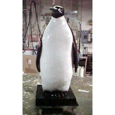 Penguin 6 Ft - Fiberglass - Indoor/Outdoor Statue/Sculpture -  - F9856