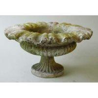 Petite Pot 6in. Fiber Stone Resin - Indoor/Outdoor Statue/Sculpture