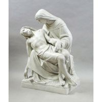 Pieta By Daprato 42in. - Fiberglass - Indoor/Outdoor Statue