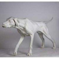 Pointer 51in. Wide - Fiberglass - Indoor/Outdoor Garden Statue